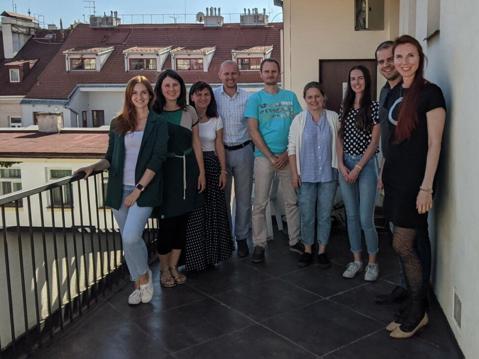 Foto účastníků základního koučovacího kurzu